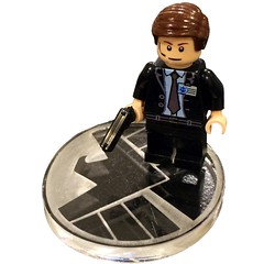 Fine Clonier has added a photo to the pool:Every SHIELD Agent needs a place to stand.  Coulson is ready for action on his custom laser cut acrylic stand.