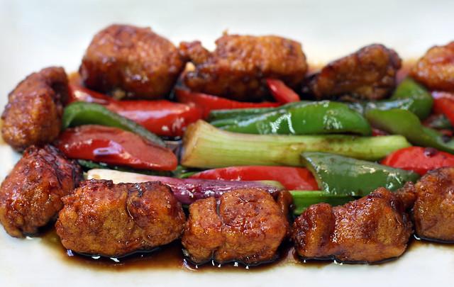 pollo estilo cantonés