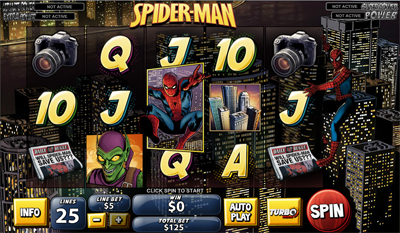 Spider-Man: Attack of the Green Goblin slot game online review