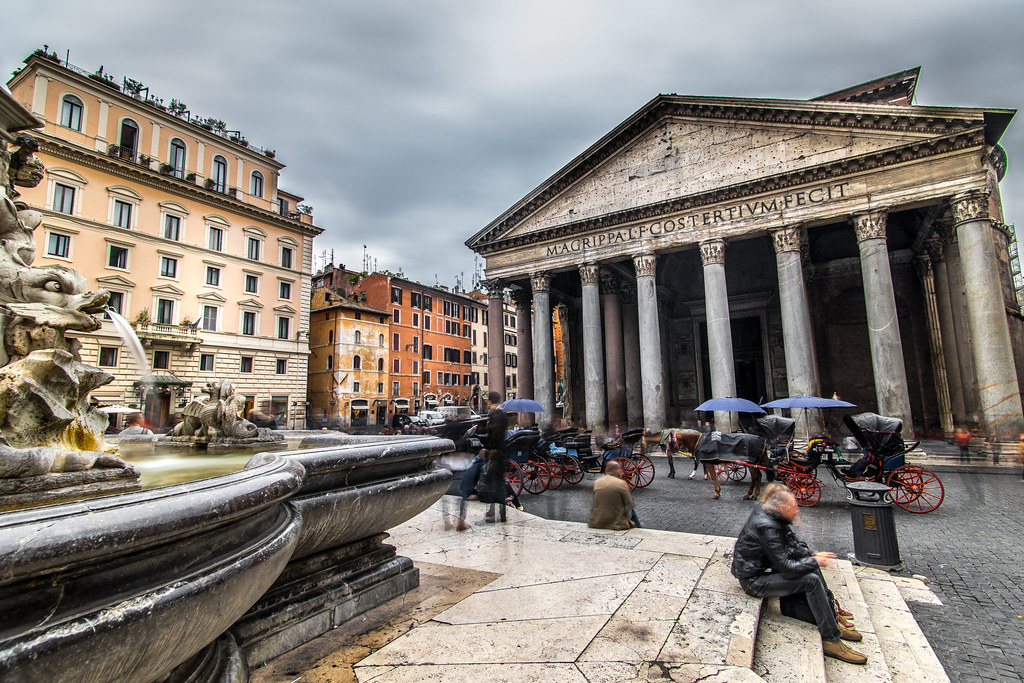 The Pantheon, Rome, Italy picture
