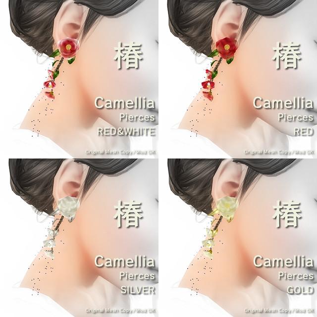 Camellia - TSUBAKI - Pierces