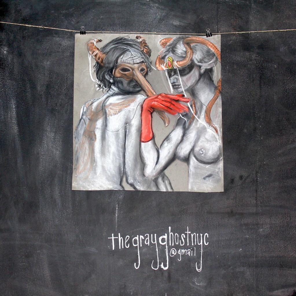 thegrayghostnyc - Magazine cover