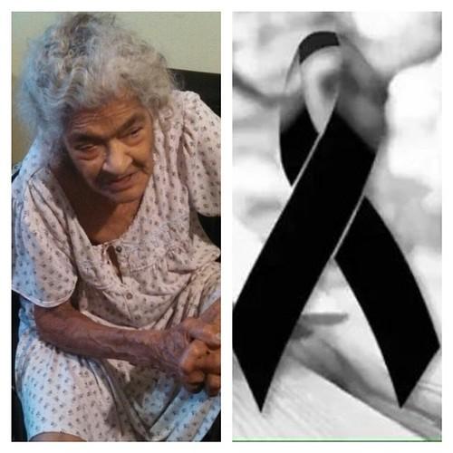 Doña Lidia Saleta, que en paz descanse.