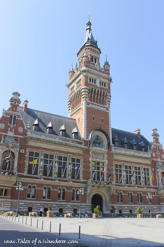 DUNKERQUE - Hôtel de ville de Dunkerque