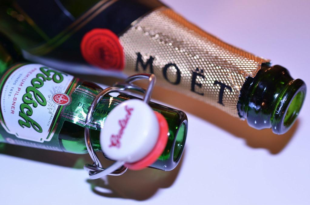 Dutch & French Champagne :)