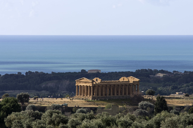 sicilya Agrigento Temple of C