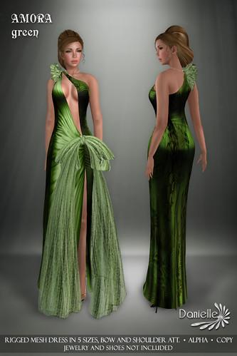 DANIELLE Amora Green