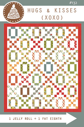 LB132 Hugs & Kisses (XOXO) quilt