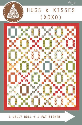 LB132 Hugs & Kisses (XOXO) quilt