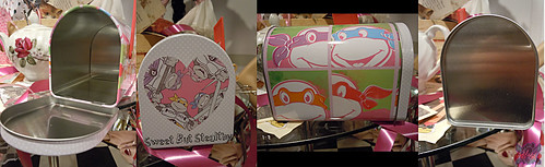 "TIN BOX Co. :: ""TEENAGE MUTANT NINJA TURTLES"" Retro Style Mailbox Tin iii (( 2015 ))"