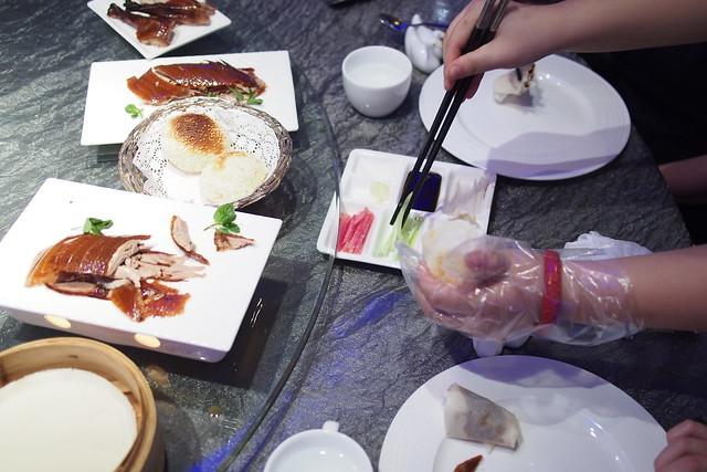 different ways of eating duck, 北京大董烤鸭店 (Da Dong Roast Duck Restaurant), Beijing, China