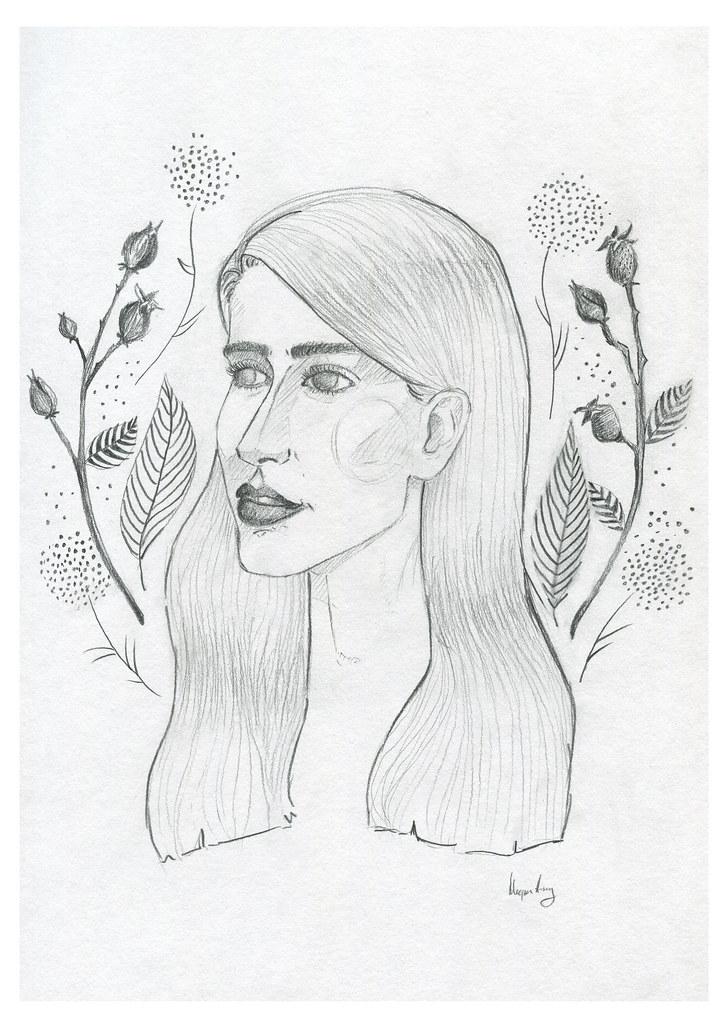 rosehip girl print 2014