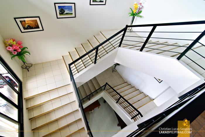 Capitol Plaza Hotel Stairwell in Quirino