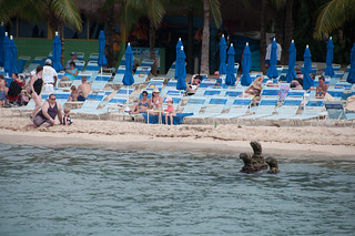 Playa Paradise görüntü. cozumel