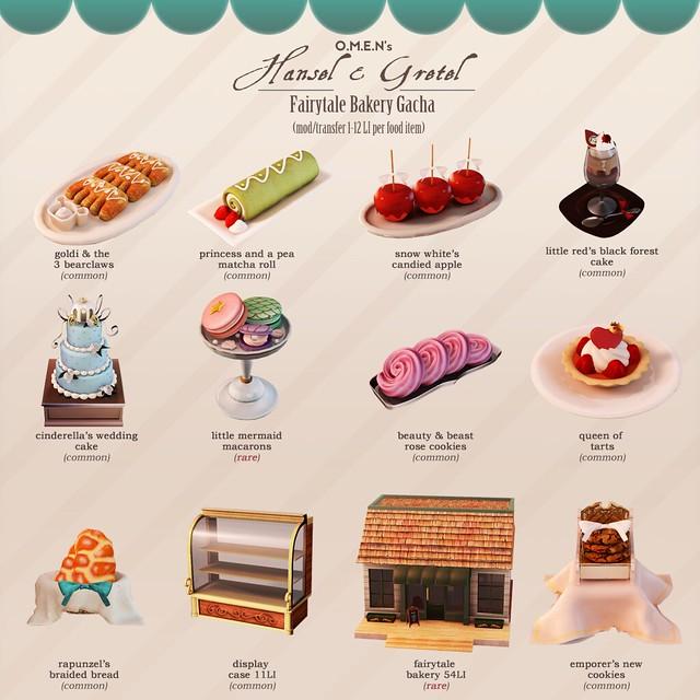 O.M.E.N - Fairytale Bakery