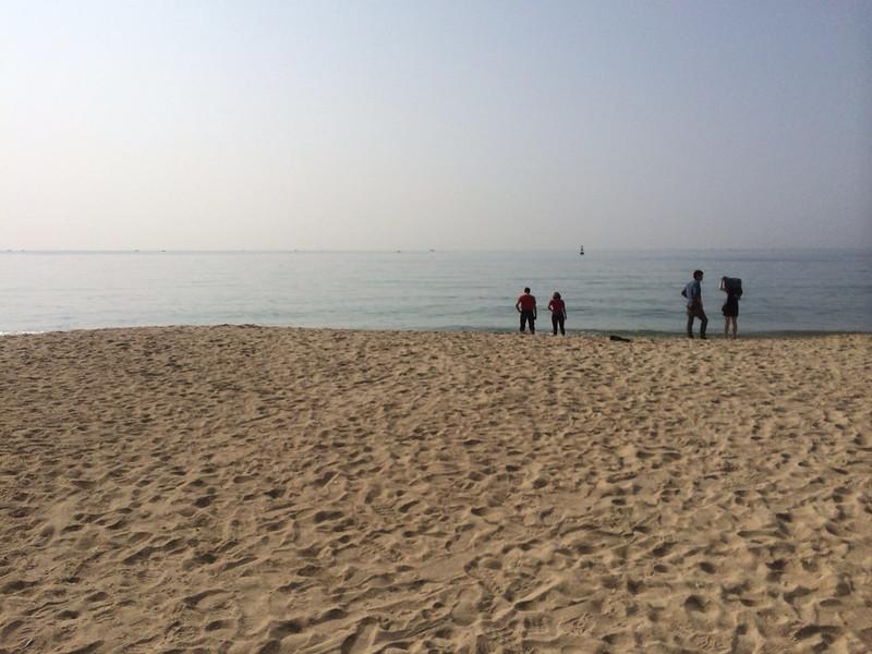 釜山海雲台海水浴場