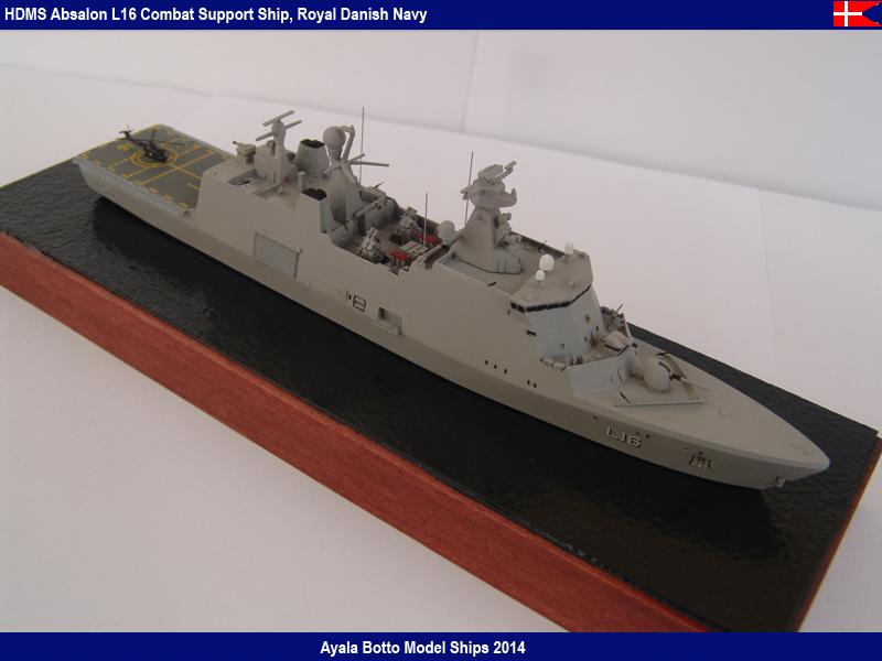 HDMS Absalon L-16  Navire de Soutien Multifonctions - NNT 1/700 16456850098_1d7caa66cf_c