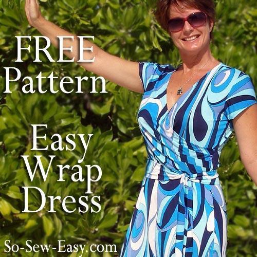 Free Wrap Dress Pattern