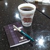 #coffee #pen and #paper  #FountainPen