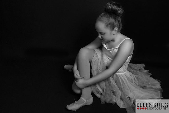 Saraland Dance Photographer | 150221 Madison-0464 bw