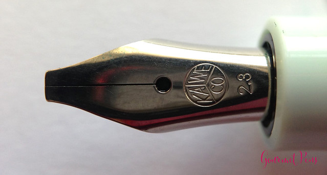 Review Kaweco Sport Skyline Mint Fountain Pen - Broad @CouronneDuComte @Kaweco (10)