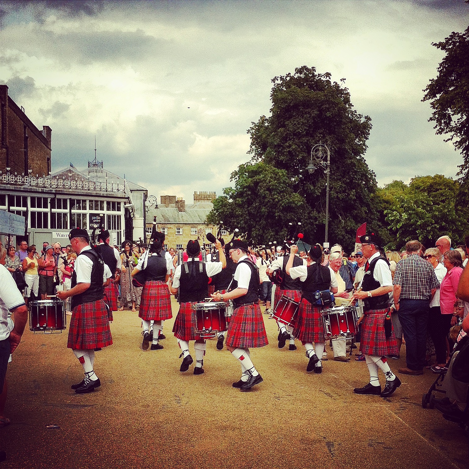 Kilted Performers