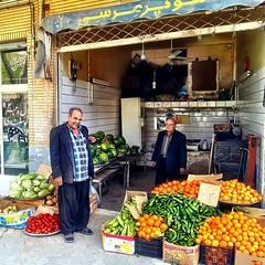 At the street market in Kashan, Iran. #iran #irani #iranian #persian #kashan #streetphoto #streetphotography #streetmarket #streets #traveling #podroze #iranianguys #instapic #picoftheday #travelgram #instagram #pic #market #イラン