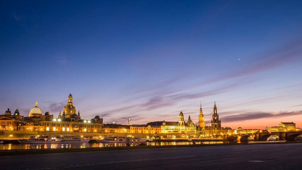 Sunset at Dresden