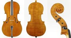Ettore Tolomini, cello, 2014, €15000, SOLD!