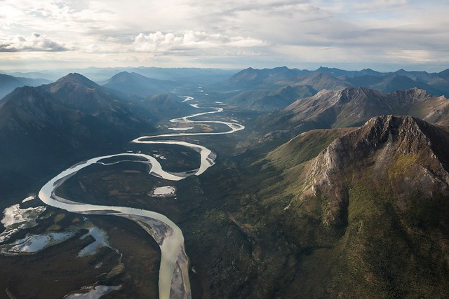 Remote river in Gates of the Arctic
