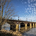 Le Pont de Pierre sur la Garonne (V). Bordeaux by Abariltur