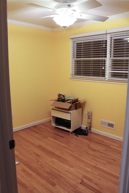 March 2015 empty nursery