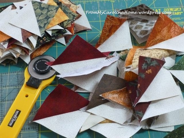 Mystery Scrap Quilt -1