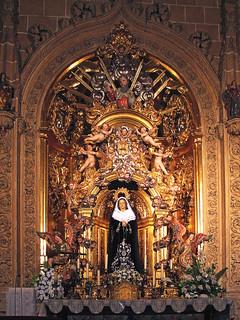 Retablo * Capilla de la Soledad - Catedral Salamanca