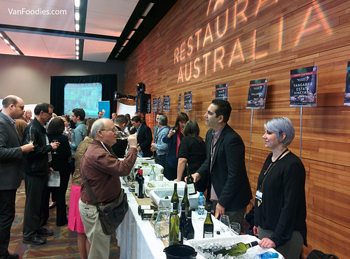 Restaurant Australia Event at Vancouver International Wine Festival