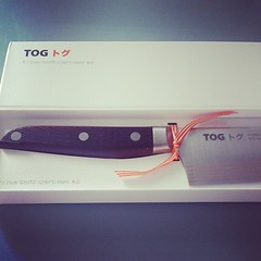 Oooooo new knife just arrived to be reviewed thx @togknives