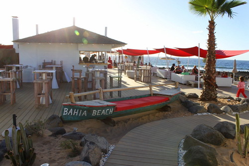 Bahia Beach Bar, Palm Mar