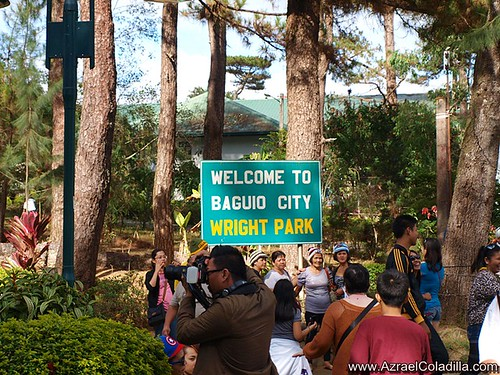 Baguio tour blog 15–photo op at the Mansion and horse back riding in Wright Park