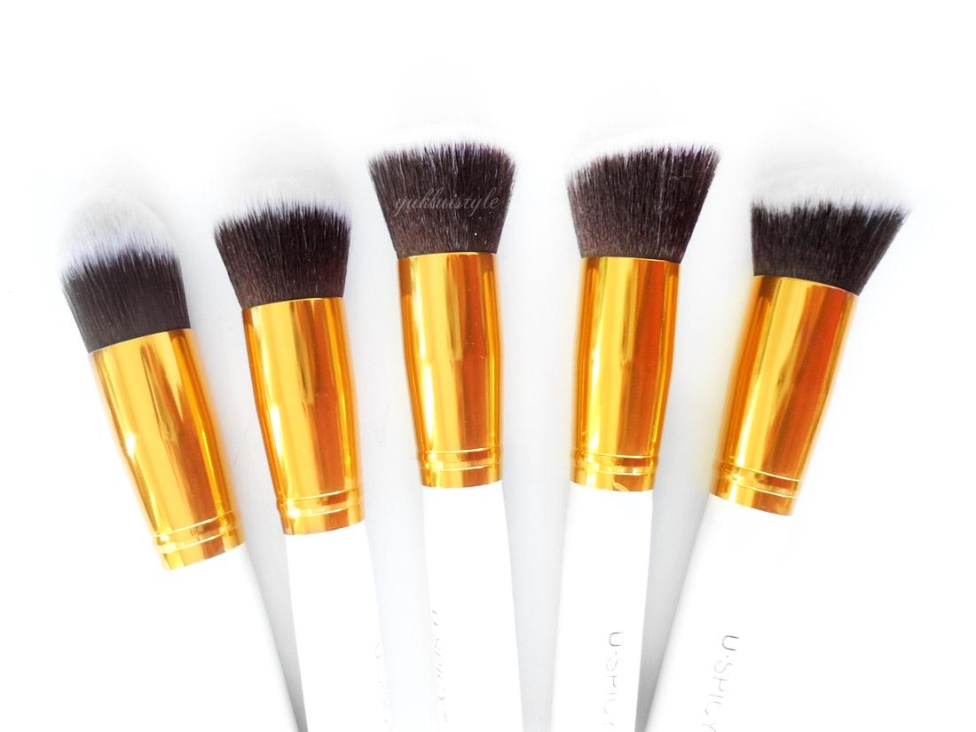 USpicy 10 Piece Makeup Brush Set review