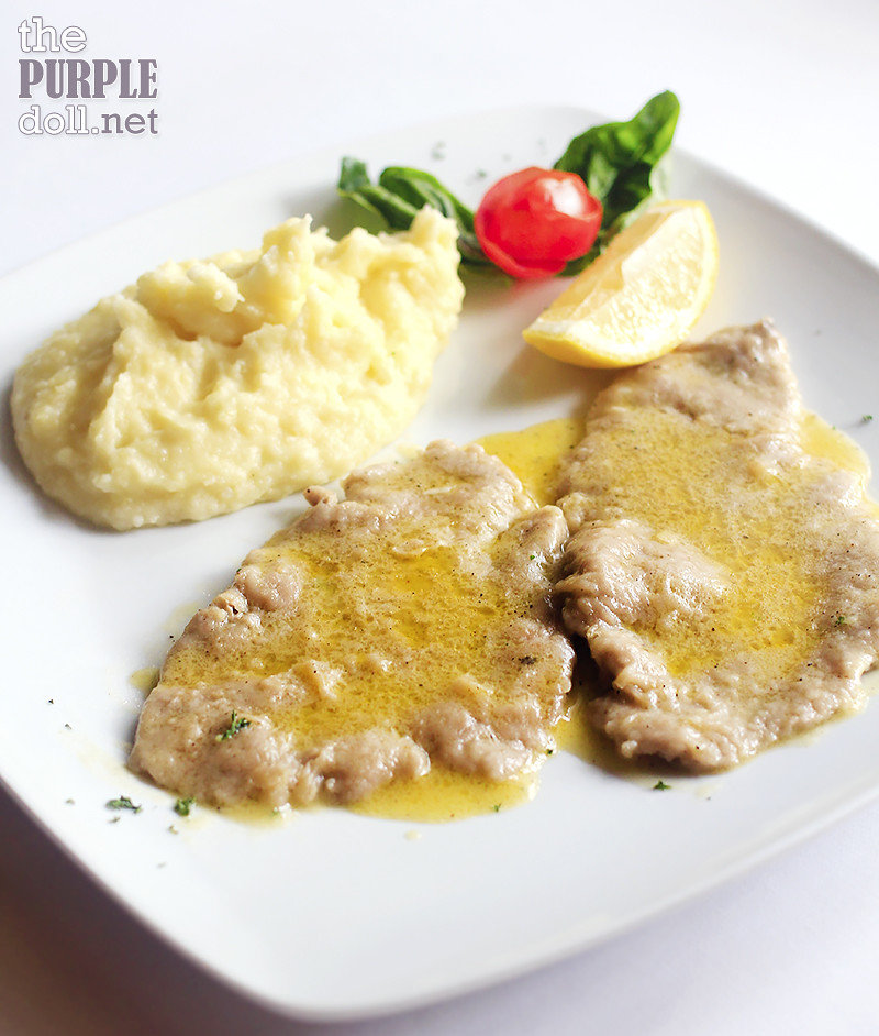 Scaloppine di Vitello al Limone (P890)