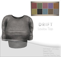 Loulou Top ~ Jersey Knit Set