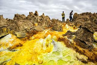 The surreal 'sulfur landscapes' of Danakil Depression