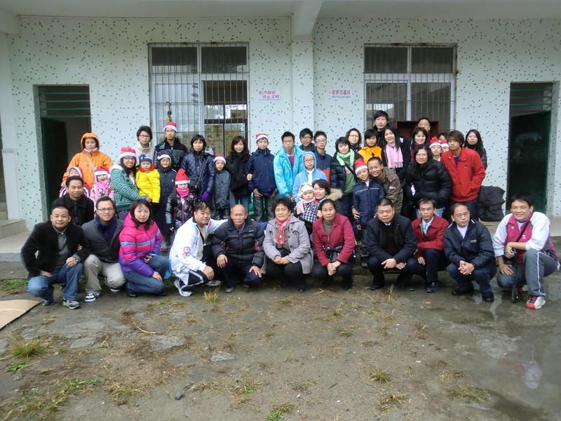 2010-12-25 聖誕扶貧助學敬老憐幼愛心團