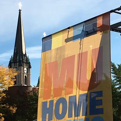 Happy #MUHomecoming weekend!  by @lansingc