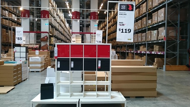 kallax shelving unit 4x4 aud119 ikea springvale flickr. Black Bedroom Furniture Sets. Home Design Ideas