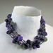 Wet Felted Beads on multi-strand beaded necklace by bjmaiee