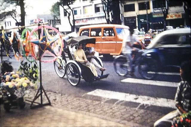 DEC 1958 SAIGON TRIP - Xmas decorations - Đường Lê Lợi