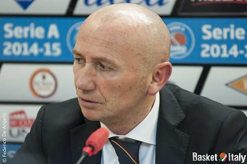 Acea Roma, Coach Luca Dalmonte