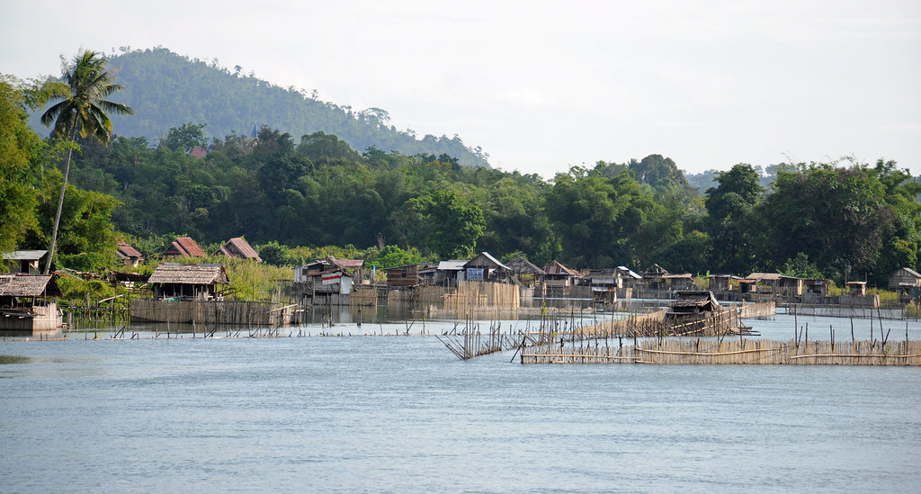 Eel Traps on the Poso River