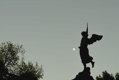 Escultura de la Batalla del 5 de Mayo. (Detalle)